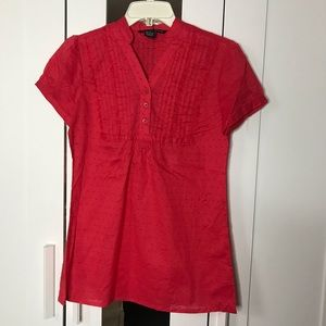 NWT Antilia Femme Coral Top Size S